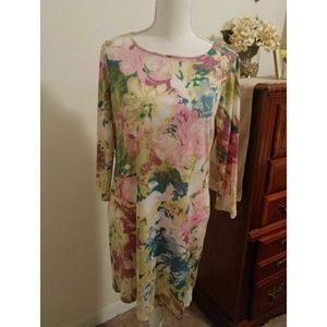 NWT BCBGMaxAzria Floral dress